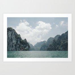 Tropical Thailand Art Print