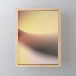sunset with a spritz Framed Mini Art Print