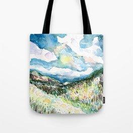 Night Hills 1 Tote Bag