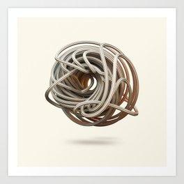 knoodle Art Print