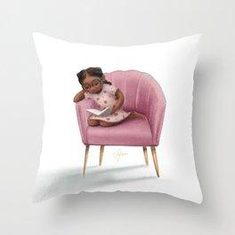 Dream Chair Throw Pillow