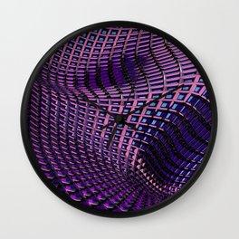 ''Grid'' digital art by Diana Grigoryeva Wall Clock