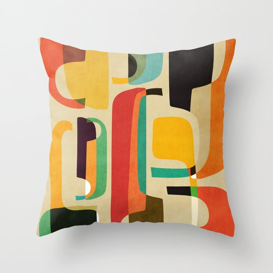 Call her now Throw Pillow