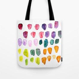Watercolor Study Tote Bag