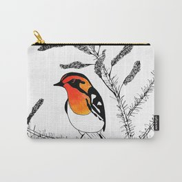 Blackburnian Warbler Carry-All Pouch