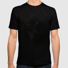 Elk Mens Fitted Tee Black LARGE