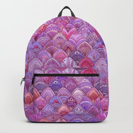Mermaid Scales - Purple Backpack