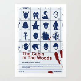 The Cabin In The Woods Art Print