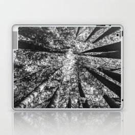 Up Above (Black and White) Laptop & iPad Skin