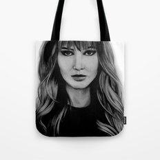 Jennifer Lawrence Tote Bag