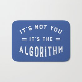 Blame the Social Media Algorithm Bath Mat