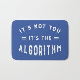Blame the Social Media Algorithm Bath Mat