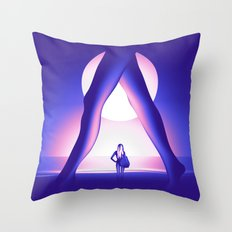 Moonlight Session Throw Pillow
