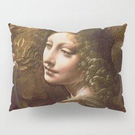 "Leonardo da Vinci ""The Virgin of the Rocks (London)"" Angel Pillow Sham"