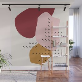 Big Shapes / Mountains Wall Mural