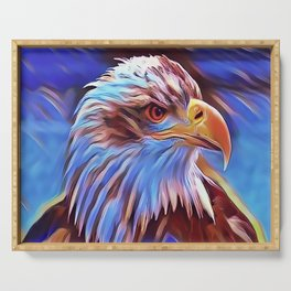 American Bald Eagle Serving Tray
