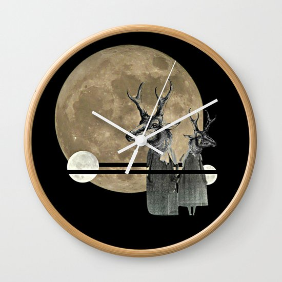Moon Dance Wall Clock