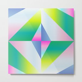 colorful vibration Metal Print