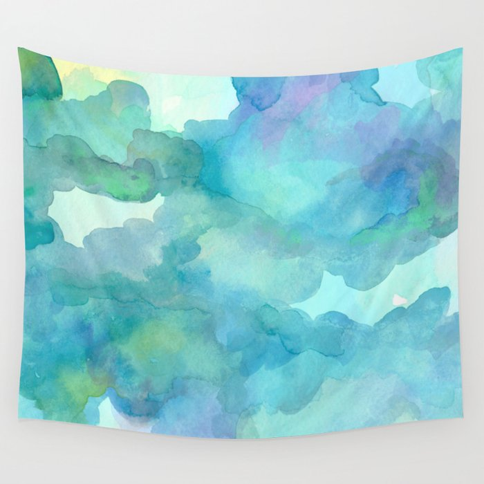 Breathing Under Water Wall Tapestry