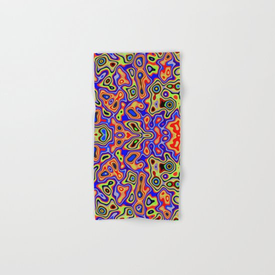 Cool colorful patterns abstract Hand & Bath Towel