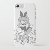 bunny iPhone & iPod Cases featuring bunny by James Murphy