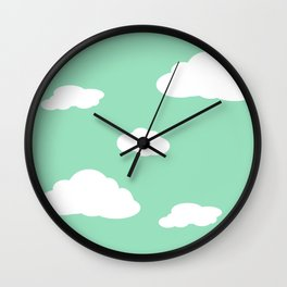 Paper Airplanes - You Can Fly - Cloud Variation - Julep Wall Clock