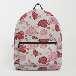 Roses pattern 3a Backpack