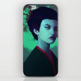 Moon Girl iPhone Skin