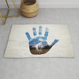 Earth Print Rug