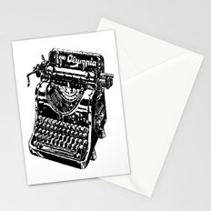 Old Typewriter Stationery Cards