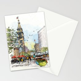 Denver's 16th Street Stationery Cards