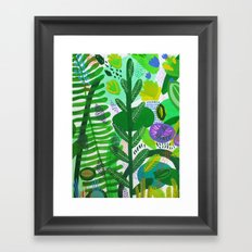 Between the branches. II Framed Art Print