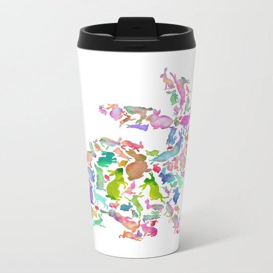 Soul Bunny - Spring Time Metal Travel Mug