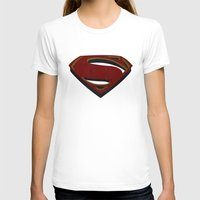 man of steel T-shirts featuring Superman - Man of Steel by ochre7