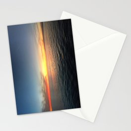 Sunset Over the Pacific Stationery Cards