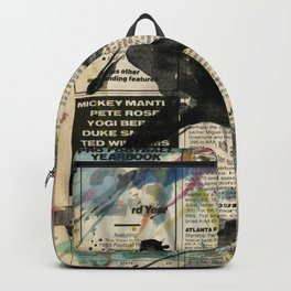 Baseball Love 3 by Kathy Morton Stanion Backpack
