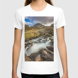 Tryfan Mountain north Wales T-shirt