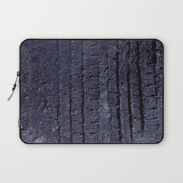tire tracks are fun! Laptop Sleeve