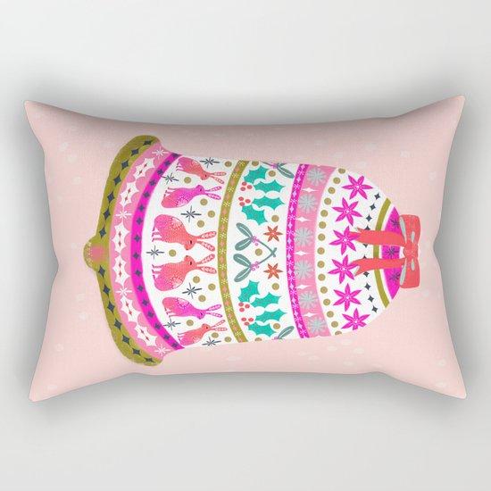 Holiday Bell by Andrea Lauren  Rectangular Pillow
