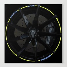 Koenigsegg Agera R wheel Canvas Print