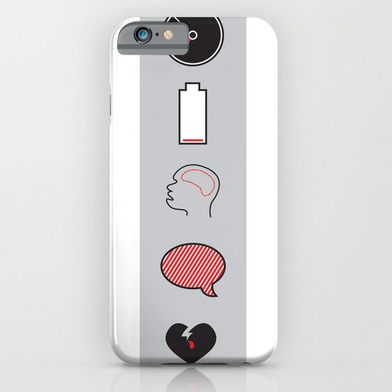 Emptiness iPhone & iPod Case
