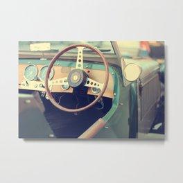 Italian car Metal Print