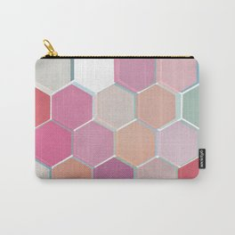 Layered Honeycomb 003 Carry-All Pouch
