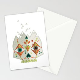 Candy Skull - Neutral Stationery Cards