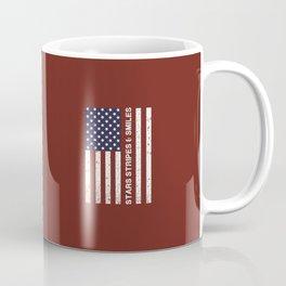 Stars Stripes and Smiles Coffee Mug