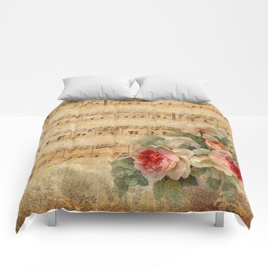 Vintage Music #1 Comforters