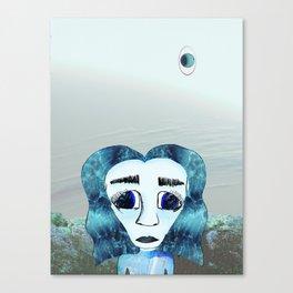 Planet Aquarius Canvas Print