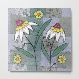 Woodland Flowers 1 Metal Print