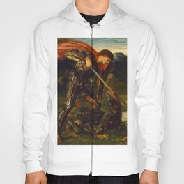 "Edward Burne-Jones ""The fight - St. George kills the dragon"" Hoody"