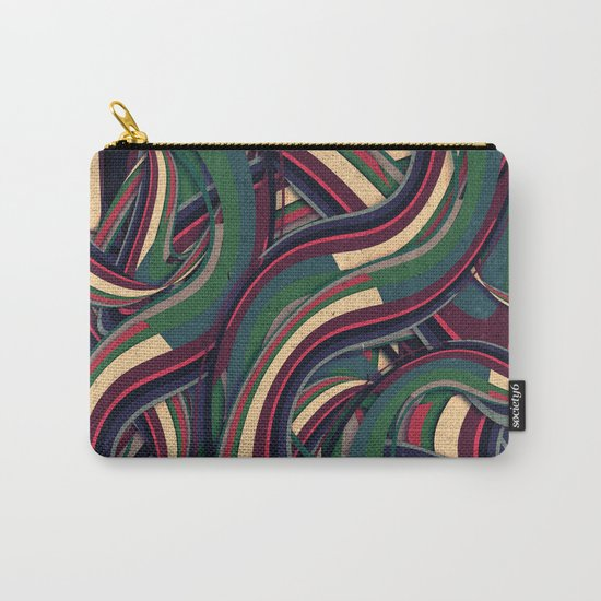 Swirl Madness Carry-All Pouch